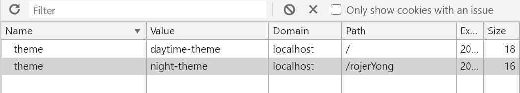 同域名不同目录路径下的cookie无法修改解决方法